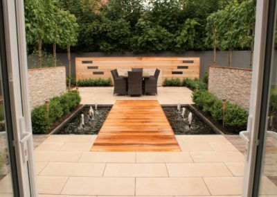 Water Feature Garden Design – Northwich, Cheshire