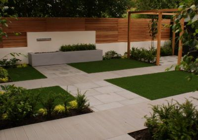 Contemporary Minimal Garden Design – Didsbury, Greater Manchester