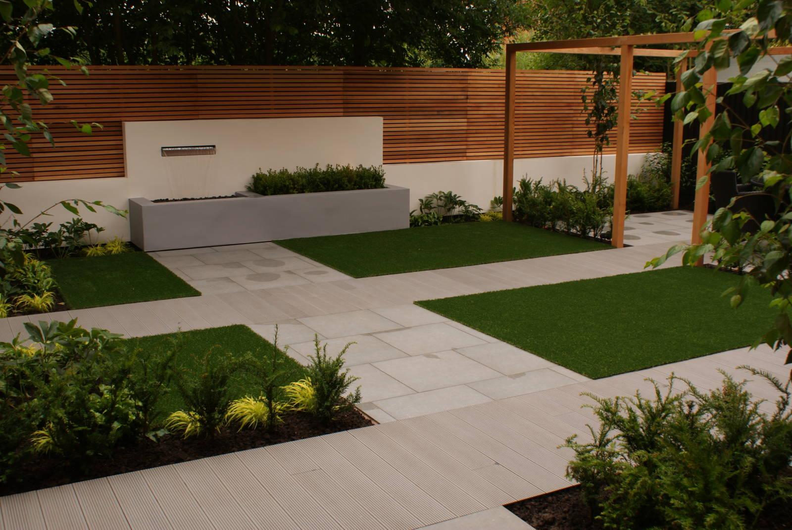 Contemporary Minimal Garden Design - Didsbury, Greater ...