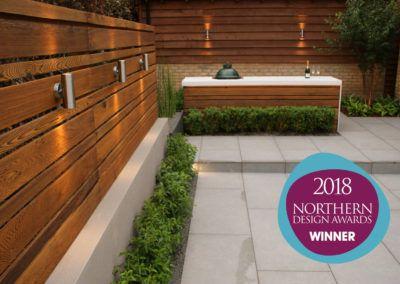 Modern Living Garden Design – Mere, Cheshire