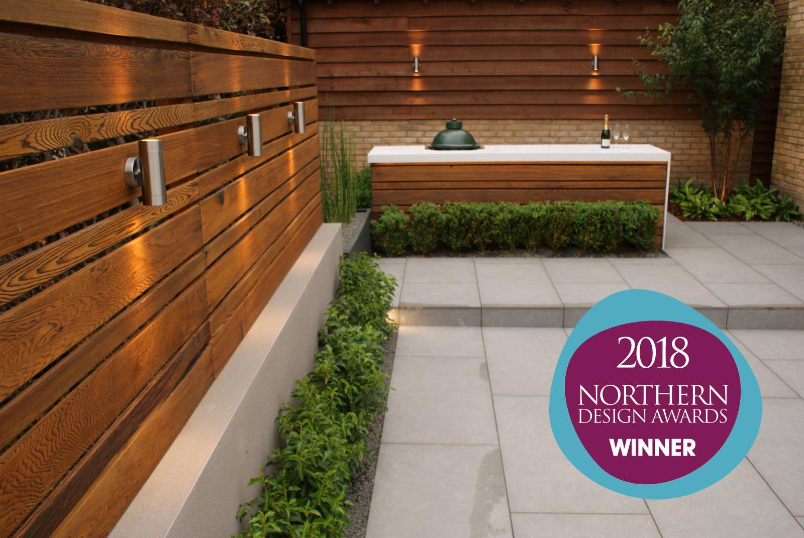 Modern Living Garden Design in Cheshire - Hannah Collins ...